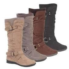 womens flat boots uk biker boots ankle womens flat boots size 3 8 ebay