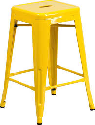 24 inch high bar stools 24 inch stools yellow metal backless inch blue bar stools 24
