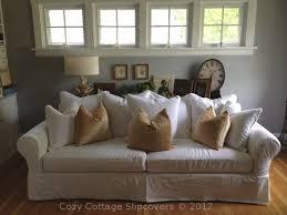 slipcovers for pillow back sofas pillow back sofa slipcover home pinterest sofa slipcovers