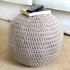 Crochet Ottoman Pattern Crochet Spot Archive Crochet Pattern Easy Adjustable