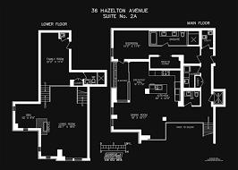 floor plans 2a 36 hazelton avenue toronto