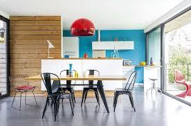 cuisine coloré une cuisine ouverte coloré et design cuisine je veux la même