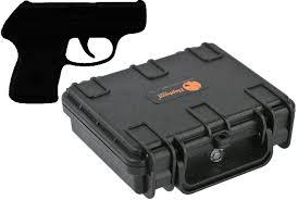 mini concealed amazon com elephant concealed carry small mini handgun hard case