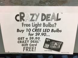 Led Light Bulb Deals by Free