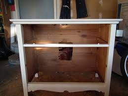 Build Your Own Bathroom Vanity Cabinet Make A Bathroom Vanity Out Of An Old Dresser Making A Bathroom