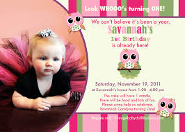 sample birthday invites owl 1st birthday invitations ideas u2013 bagvania free printable