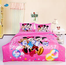 Minnie Mouse Twin Comforter Sets Mickey Mouse Bed Sets Chinese Goods Catalog Chinaprices Net