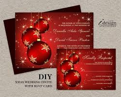 Christmas Party Invitations With Rsvp Cards - 58 best christmas wedding invitations and coordinated products