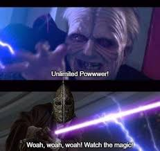 Emperor Palpatine Meme - emperor palpatine vs skyrim guard star wars know your meme