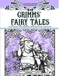 amazon grimm u0027s fairy tales coloring book