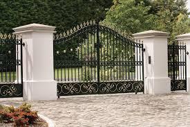 personable main gate entrance design set fresh at lighting design