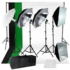 photography backdrop stand lusana studio photography kit 4 light bulb umbrella muslin 3