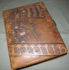 leather albums lovely leather photo album 8 chromolithograph pages