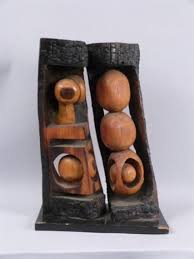 abstract wood carving abstract carved wood sculpture louis schanker wikiart org