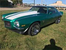 1972 chevy camaro for sale 1972 chevrolet camaro for sale on classiccars com 20 available