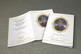 Paper For Funeral Programs Printable Funeral Program Template Memorial Program