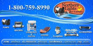 northern lights sauna parts balboa tub parts spa parts spa supplies tub supplies