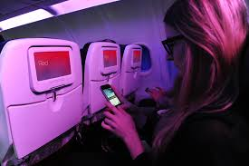 American Airlines Inflight Wifi by Virgin America U0027s Pick For In Flight Wi Fi Signals A Change For