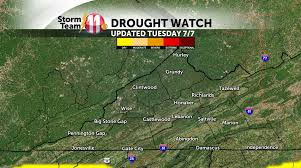 United States Drought Map by Drought Conditions Eased U2013 Storms Grow High Wjhl