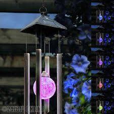 solar wind chime ebay