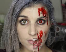 halloween makeup blood izombie halloween tutorial the daily bailey b