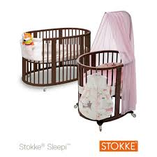 Convertible Mini Cribs by Stokke Sleepi Mini Crib Walnut Baby Products That Grow With