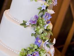 purple orchid sugar flower wedding cake cakecentral throughout