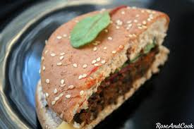cuisiner lentille le burger de lentilles vertes du puy aoc juste bluffant