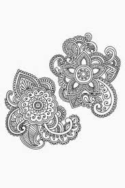 unique flowers paisley pattern tattoo designs www hoggifts com