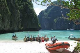 koh phi phi south east asia backpacker
