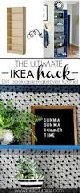 Billy Bookcase Diy Ikea Hack Bookcase Makeover With Wallpaper U0026 Paint This Is Our