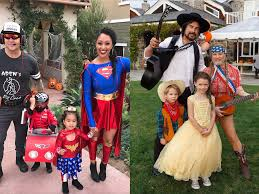 The Best Celebrity Halloween Costumes by All Of The Best Celebrity Family Costumes Of Halloween 2017