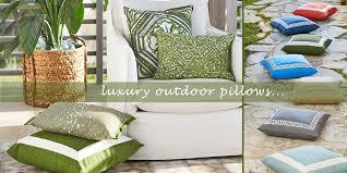 luxury outdoor pillows designer outdoor pillows decorator