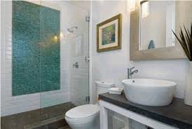White And Green Bathroom - black and white penny tile bathrooms interior decorating and