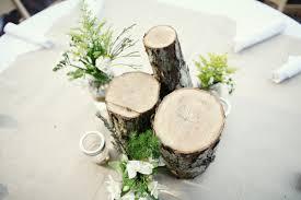 Wood Centerpieces Diy Wood Centerpiece Elizabeth Anne Designs The Wedding Blog