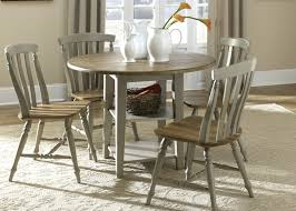 small round dining table with drop leaf drop leaf dining tables