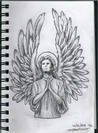 9 best angel tattoo drawings images on pinterest