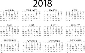 Kalender 2018 Hd Kostenlose Vektorgrafik Kalender 2018 Datum Tag Monat
