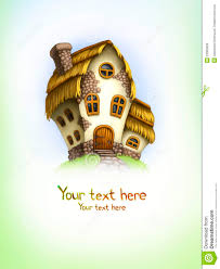 background with fairy tale house stock images image 23395694