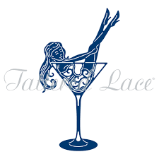 martinis cheers tattered lace dies cheers