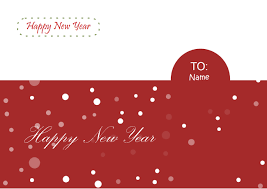 new year card free new year card templates