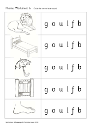 phonics picture match 6 goulfb by beemistress teaching