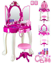 childrens dressing tables with mirror and stool childs vanity table and stool girls glamour mirror makeup dressing
