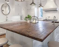 white kitchen wood island wood island top houzz