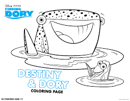 fi finding nemo coloring pages for kids