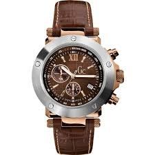 montre guess bracelet cuir images Guess i45003g1 montre homme quartz chronographe cadran marron jpg