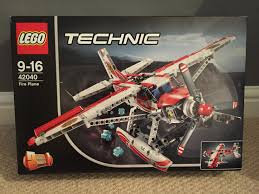 lego technic sets lego technic fire plane review set 42040 one dad one blog
