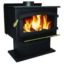 Fireplace With Blower by Wood Burning Stoves Freestanding Stoves The Home Depot