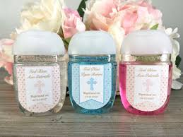 party favor labels baptism favor labels communion sanitizer labels