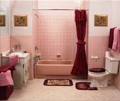 pink tile bathroom ideas wall decoration in the bathroom 35 ideas for bathroom design